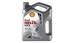 Масло моторное SHELL HELIX HX8 5W-30 4л.