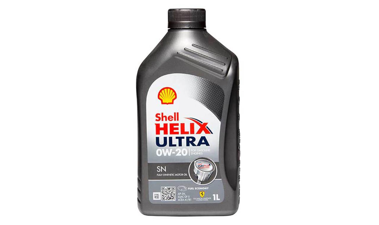 Масло моторное SHELL HELIX ULTRA 0W-20 1л.