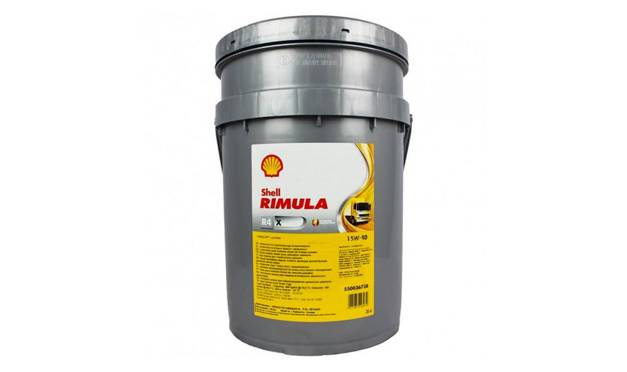 Масло моторное SHELL Rimula R4 15W-40 20л.