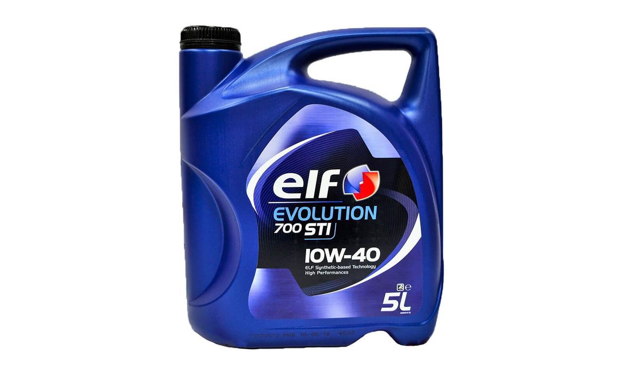 Масло моторное ELF Evolution 700 STI 10w40 5л.
