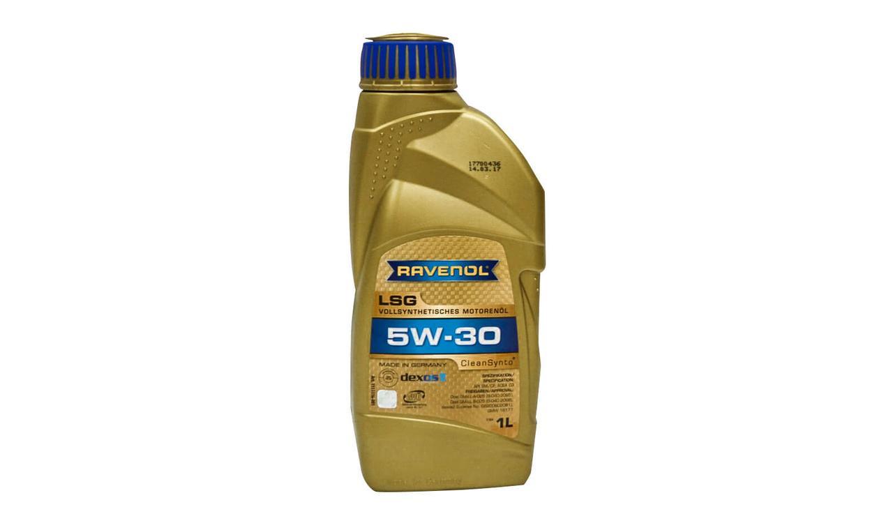 RAVENOL LSG SAE 5W-30 – полностью синтетическое моторное масло