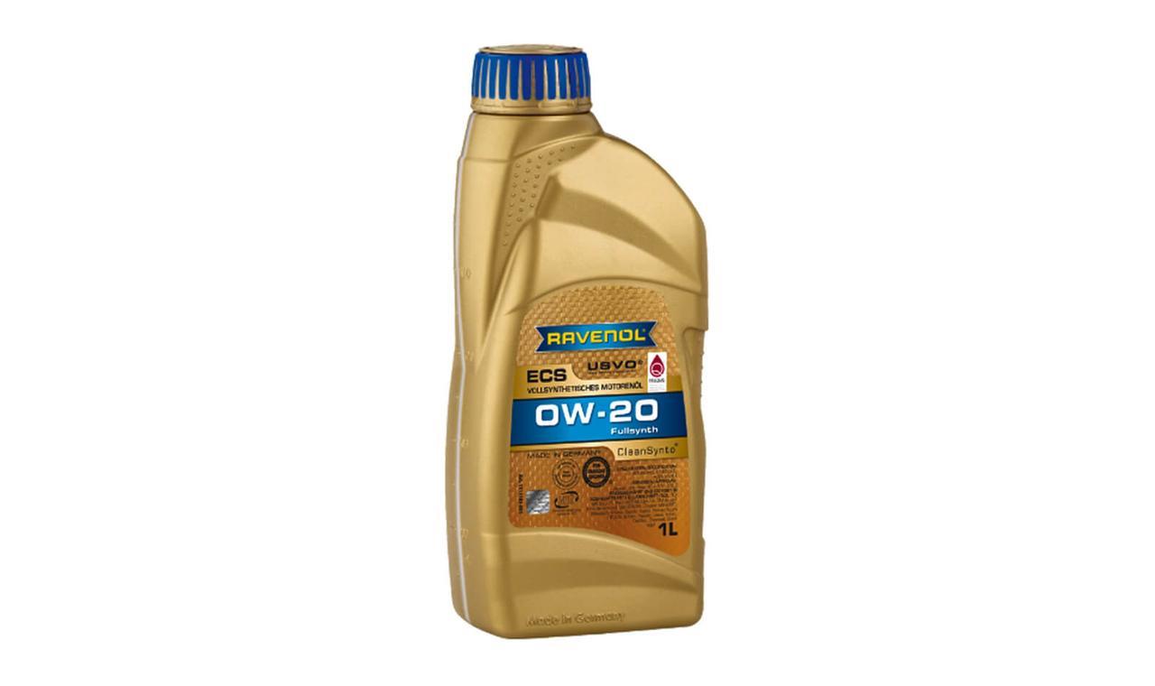 RAVENOL Eco Synth ECS SAE 0W-20 – полностью синтетическое легкотекучее моторное масло