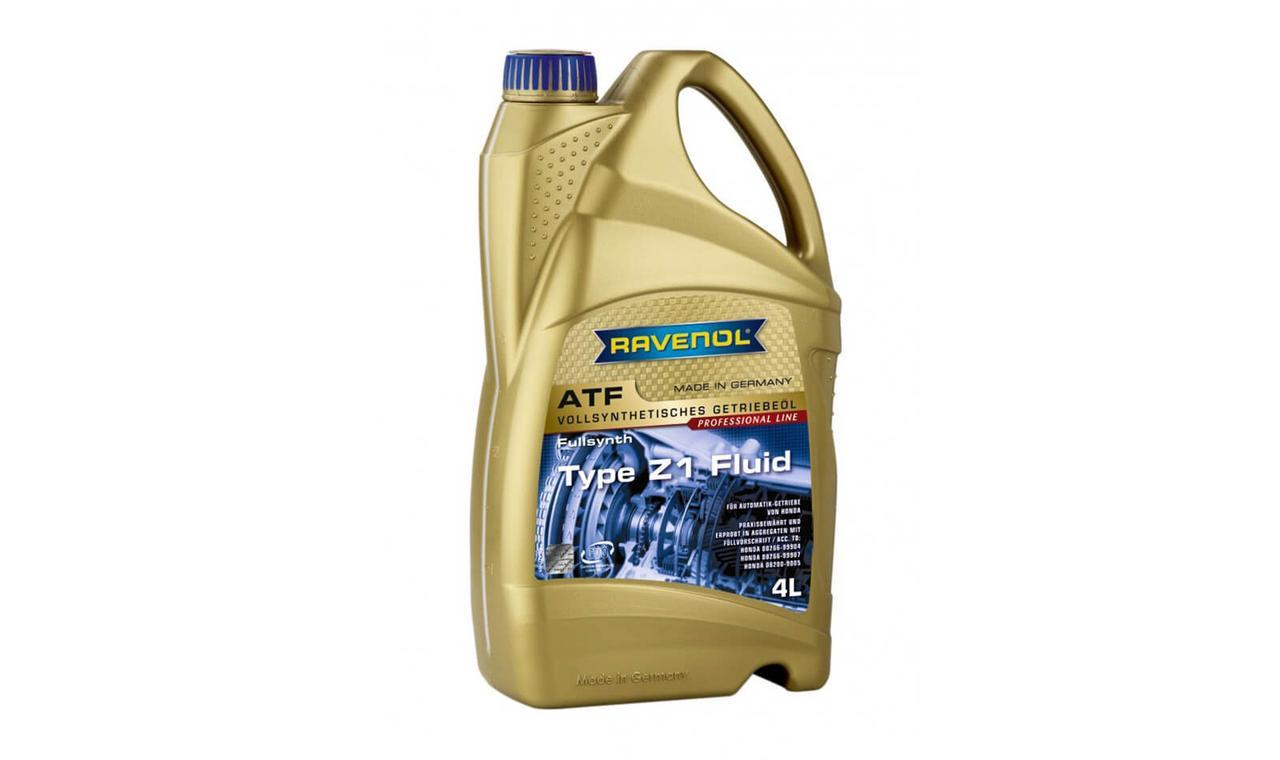 Трансмиссионное масло RAVENOL ATF Z1 Fluid 4л.