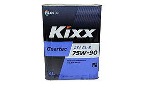 Kixx Geartec 75w90 4л.
