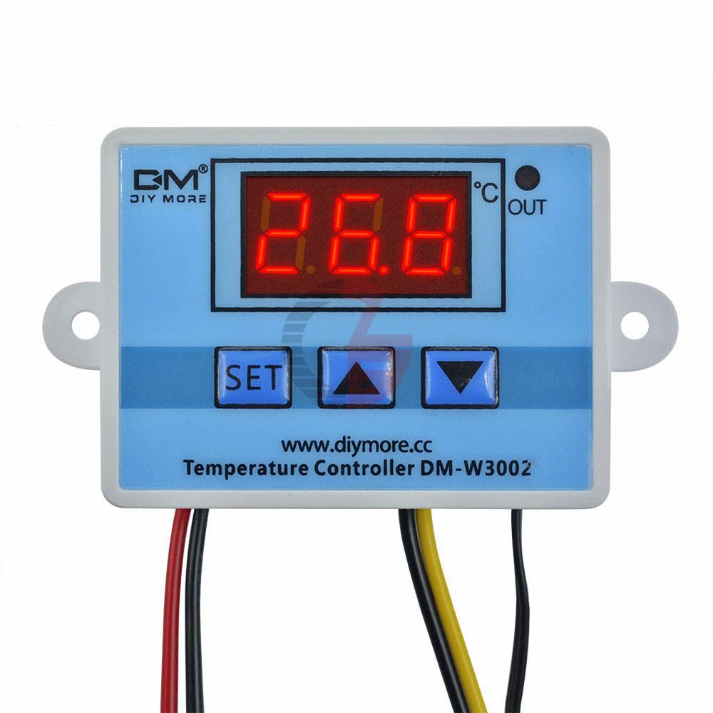 Терморегулятор электронный мощный термостат на 220V до 6000 Ватт - фото 4
