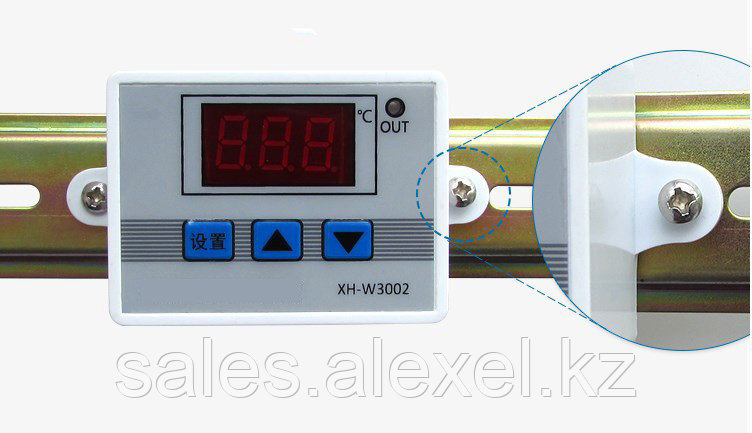 Терморегулятор электронный мощный термостат на 220V до 6000 Ватт - фото 6