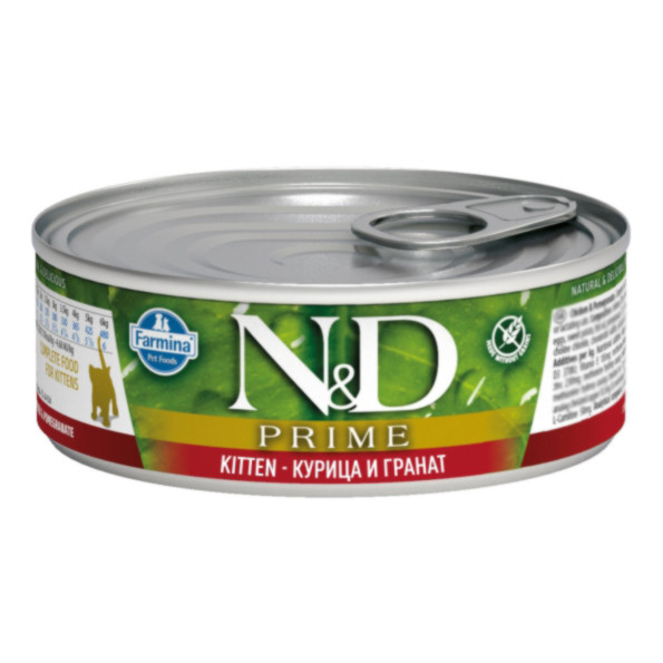 N&D Консервы для котят Курица и гранат