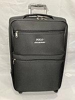 Средний тканевый дорожный чемодан на 4-х колесах Polo Collection. Высота 65 см, длина 42 см, ширина 28 см., фото 1