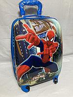 Детский пластиковый чемодан для мальчика , 4-х до 7-и лет, ABS-пластик. Высота 46 см,длина 32 см,ширина 21 см., фото 1