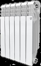 Радиатор биметаллический Monoblok BM 500/100 Royal Thermo белый (РОССИЯ)