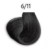Крем-краска перманентная для волос 6/11 темно-русый интенсивно- пепельный 100 мл OLLIN Platinum