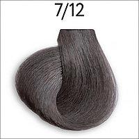 Крем-краска перманентная для волос 7/12 русый пепельно-фиолетовый 100 мл OLLIN Platinum