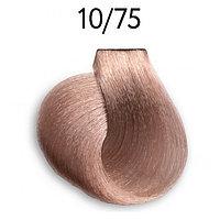 Крем-краска перманентная для волос 10/75 светлый блондин коричнево-махагоновый 100 мл OLLIN Platinum