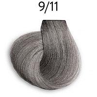 Крем-краска перманентная для волос 9/11 блондин интенсивно-пепельный 100 мл OLLIN Platinum