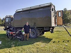 Караванинг туры в национальном парке Алтын Эмель в автодоме Ивеко Магирус