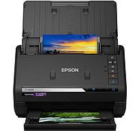 Сканер Epson FastFoto FF-680W (EMEA), B11B237401, A4, 600x600, 48-24-bit, 80 фото 10х15-мин, USB2.0, Wi-Fi