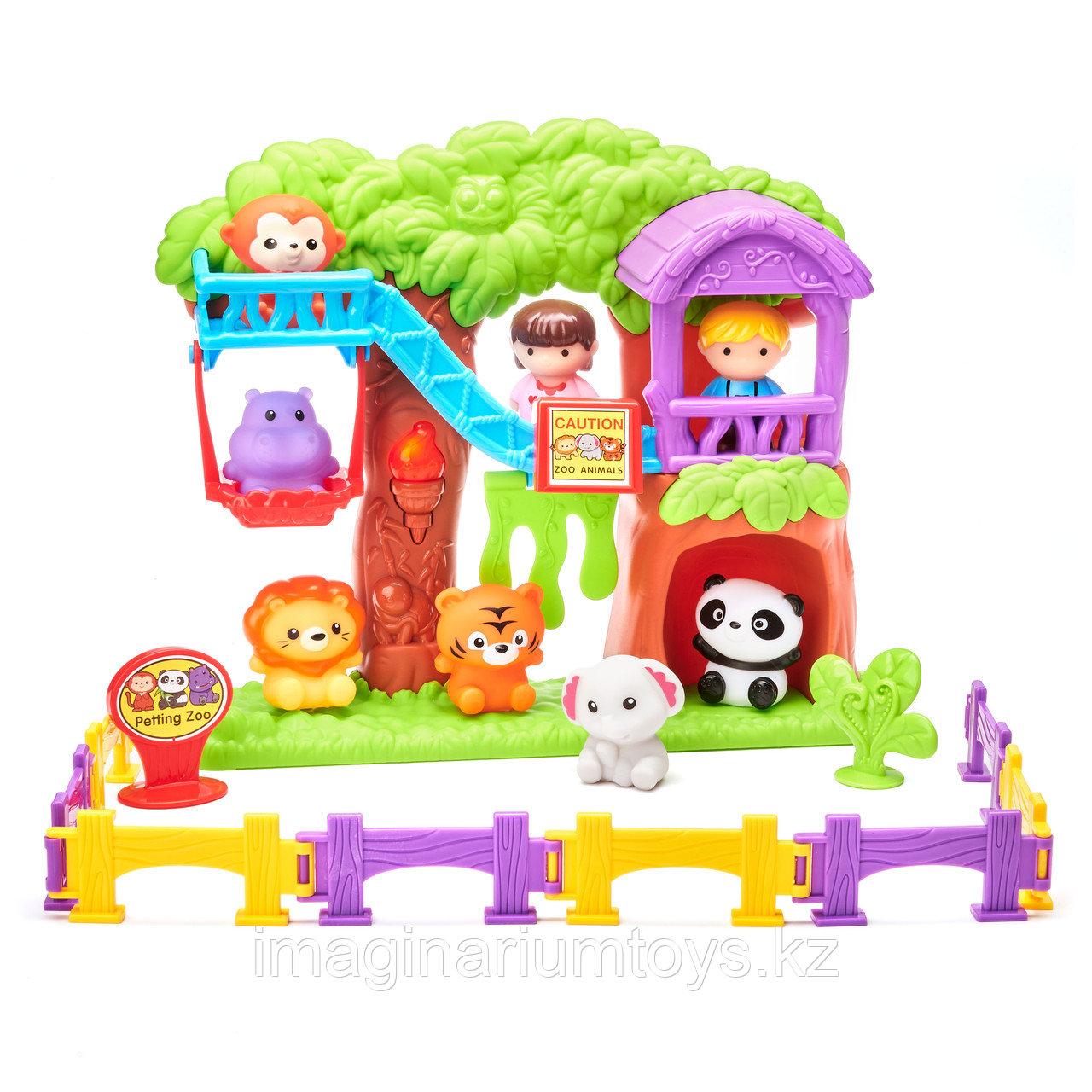 Игровой набор для малышей «Зоопарк с животными»