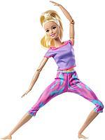 Кукла Барби Безграничные движения Made to move блондинка выпуск 2021, фото 1