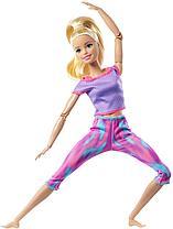 Кукла Барби Безграничные движения Made to move блондинка выпуск 2021