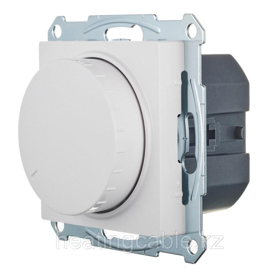 Atlas Design светорегулятор (диммер) поворотно-нажимной LED,RS,315 Вт,МЕХАНИЗМ,  скрытая установка белый