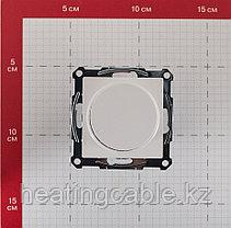 Atlas Design светорегулятор (диммер) поворотно-нажимной LED,RS,315 Вт,МЕХАНИЗМ,  скрытая установка белый, фото 3