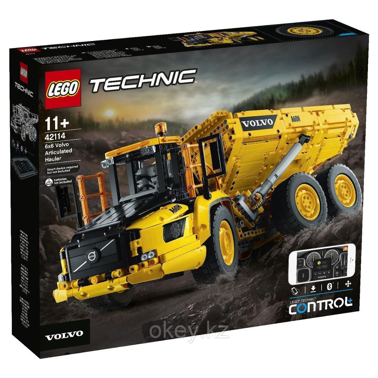 LEGO Technic: Самосвал Volvo 6x6 42114