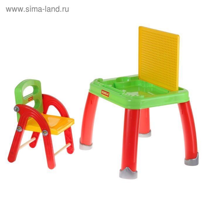 Набор детской мебели: стол для творчества со стулом - фото 2