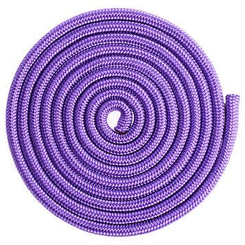 Скакалка гимнастическая, 3 м, цвет фиолетовый
