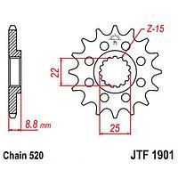 Звезда передняя ведущая JTF1901 для мотоцикла, стальная