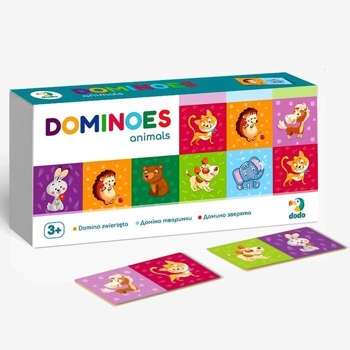 Домино «Зверята»