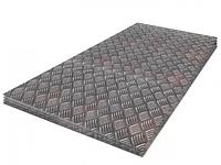 Алюминий рифленый 1,5 мм 1250х2500 мм