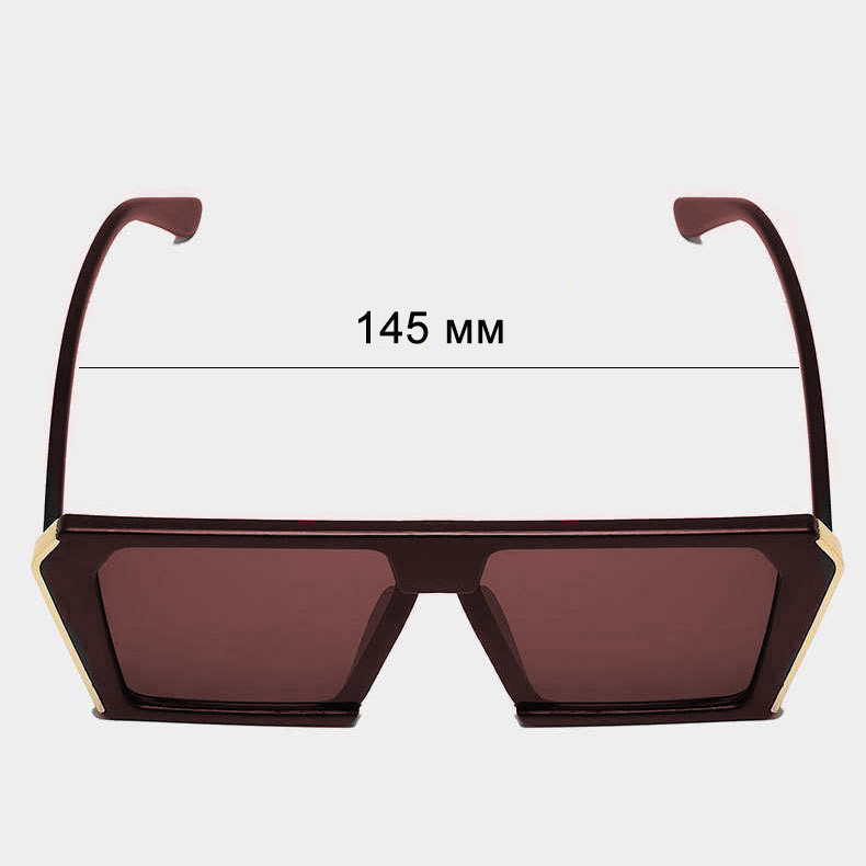 Солнцезащитные очки MIU MIU 3011 коричневые - фото 3