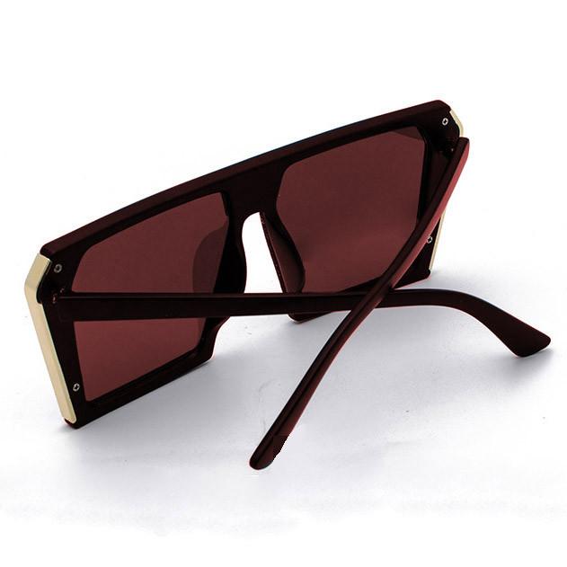 Солнцезащитные очки MIU MIU 3011 коричневые - фото 7