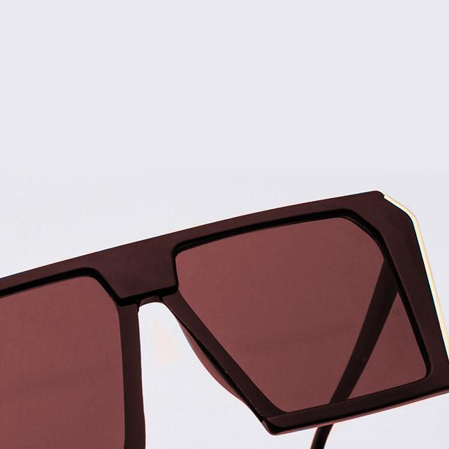 Солнцезащитные очки MIU MIU 3011 коричневые - фото 8
