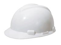 Защитная каска, V дизайн, белого цвета 410