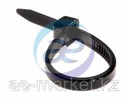 Хомут nylon 100 x 2, 5 мм 100 шт чёрный REXANT