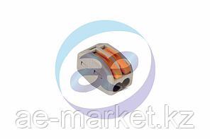 Универсальная многоразовая 2-проводная клемма REXANT (0, 08-2, 5 (4) мм²) 50шт.