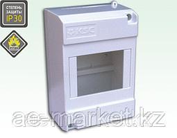 Щиток предназначен для установки до 4-х автоматических выключателей