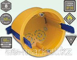 Коробка устан. под г/к 68*50) с пластиковыми ремешками