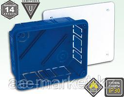 Коробка для подштукатур монтажа 125*155*65