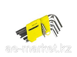Набор шестигранников 9 предметов 1, 5-10 мм HEX Proconnect