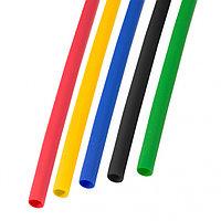 Набор термоусадочной трубки 3, 0 / 1, 5 мм 1м Пять цветов REXANT