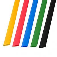 Набор термоусадочной трубки 8, 0 / 4, 0 мм 1м Пять цветов REXANT