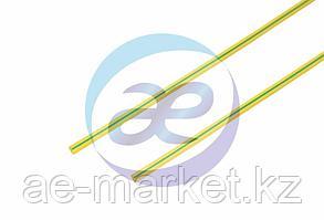 1. 5 / 0. 75 мм 1м термоусадка желто-зеленая REXANT