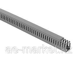 Перфорированый кабельный канал  25х40  (серый, 2м) Mutlusan