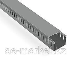 Перфорированый кабельный канал  60х40  (серый, 2м) Mutlusan