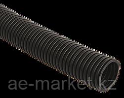 Труба гофрированная ПНД d=20мм с зондом черная (100м) IEK