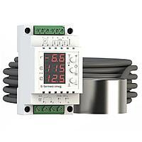Терморегулятор Terneo Sneg c датчиками осадков и воздуха