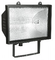 Прожектор ИО 1500 (ЧЕРН ПОД ГАЛОГЕН) IP54