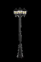 Садовые светильники CLASSIC 100W НТУ ДЕКОР 3-Х РОЖК ОПОРА 1М IP33 E27